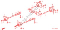 MONTURE DIFFERENTIEL ARRIERE DIRECTION, FREIN, SUSPENSION S2000 honda-voiture 2006 S2000 B__2020
