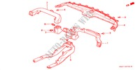 CONDUIT(LH) HABILLAGE INTERIEUR ACCORD honda-voiture 2002 2.3VTI B__3720