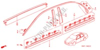 MOULAGE HABILLAGE INTERIEUR ACCORD honda-voiture 2002 2.3VTI B__4210