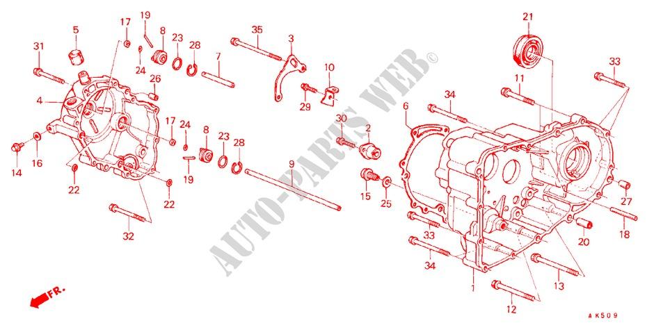 boite de vitesses boite de vitesses ex 1982 accord honda voiture honda auto catalogue de. Black Bedroom Furniture Sets. Home Design Ideas