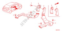 CONDUIT HABILLAGE INTERIEUR CIVIC honda-voiture 2011 2.2SPORT B__3720