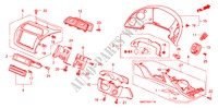GARNITURE D'INSTRUMENT(RH)(COTE DE CONDUCTEUR) HABILLAGE INTERIEUR CIVIC honda-voiture 2008 1.8 TYPE S B__3711