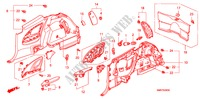 GARNITURE LATERALE HABILLAGE INTERIEUR CIVIC honda-voiture 2008 1.8 TYPE S B__3930