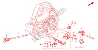 BIELLETTE DE SELECTION/SUPPORT DE SELECTION (DOHC) pour Honda Voiture CIVIC CRX VTI 2 Portes 5 vitesses manuelles 1993